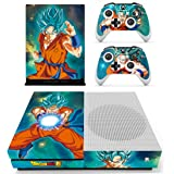 Vanknight Xbox One S Slim Console Remote Controllers Skin Set Vinyl Skin Decals Stciker Cover for Xbox One Slim (XB1 S) Conso