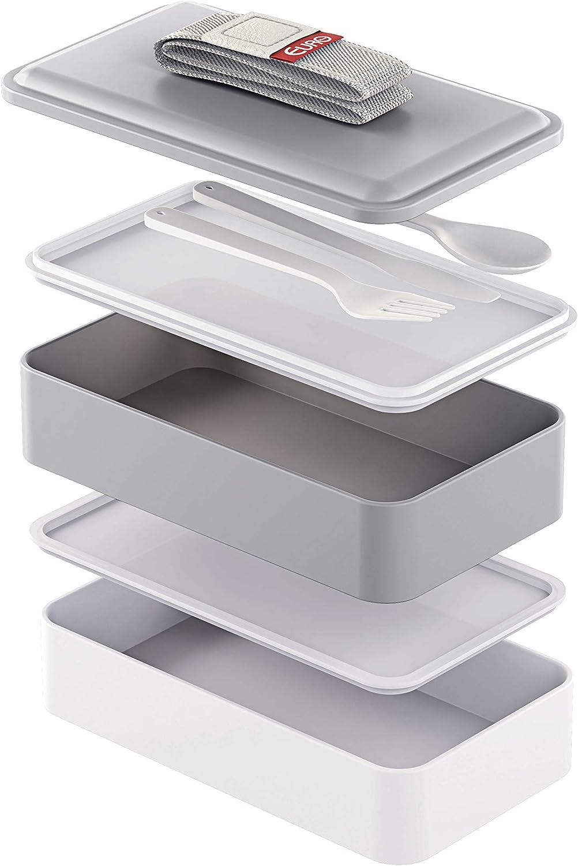 Marmitalunch Box, Cinza, Euro por Euro