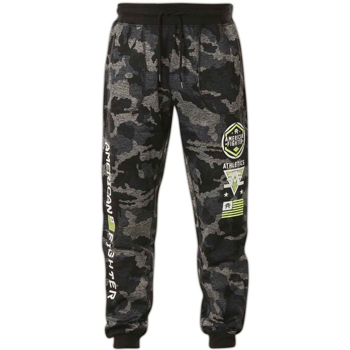 American Fighter by Affliction Sweatpants Reverse Double Take Jogger Camouflage Schwarz