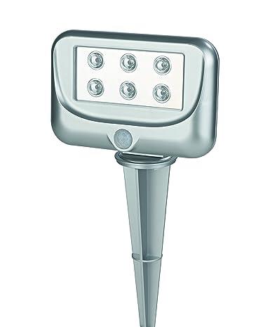 TV Unser Original easy! Luz LED-proyector de jardín con sensor de movimiento 06446