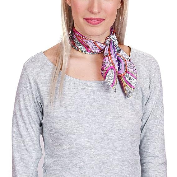 f50fe28b6f9 Allée du foulard Carré de soie Piccolo Jaipur - 50x50 cm  Amazon.fr ...