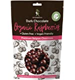 Dr Superfoods Organic Raspberries Dark Chocolate, 1 Count