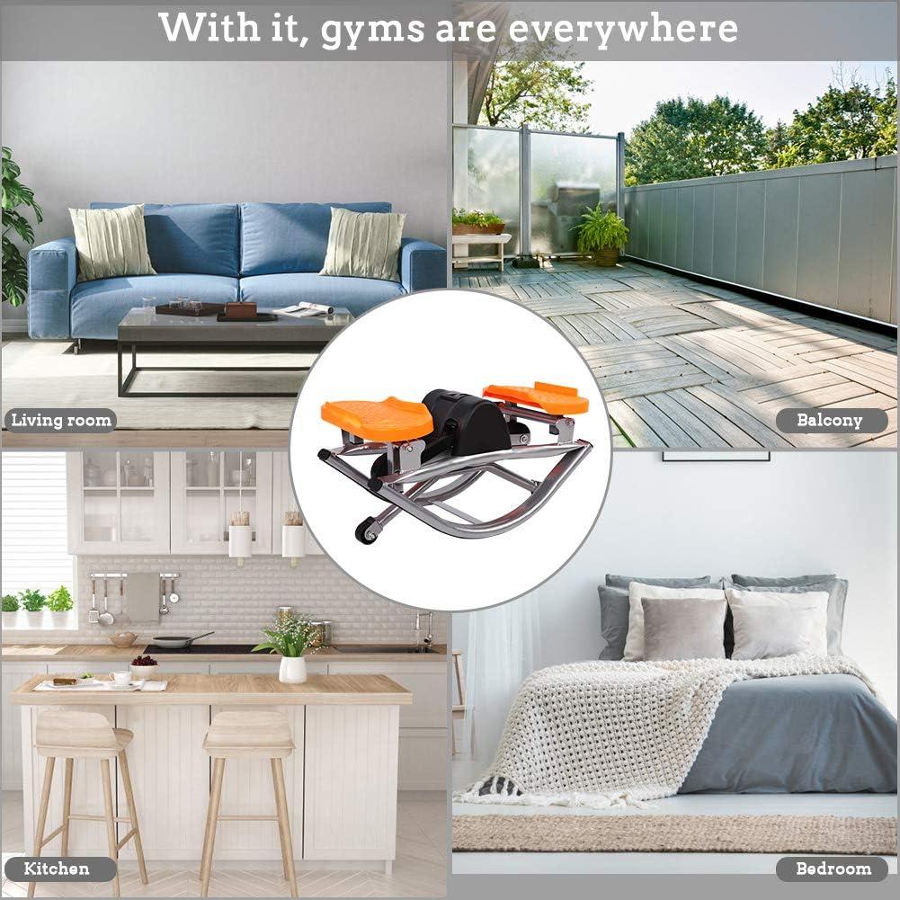 AYNEFY /Übungs-Stepper,Sport-/Übungs-Stepper mit LCD-Display Fitness-/Übungs-Stepper f/ür Home Fitness-Ger/äte Schlafzimmer Wohnzimmer Stepper Trainingsger/äte