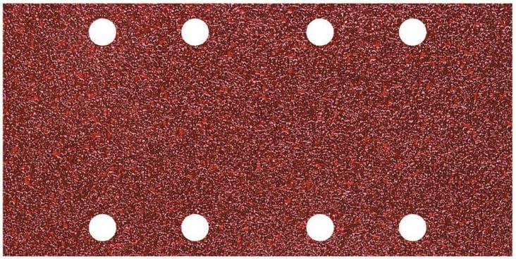 Corindon Grains 180 Largeur 93 X Longueur 185 Mm Wolfcraft 5801000 10 Patins Abrasifs Auto-agrippants Perfor/és