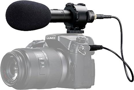 Micrófono de video estéreo X/Y Stereo, BOYA BY-PVM50 Micrófono de ...