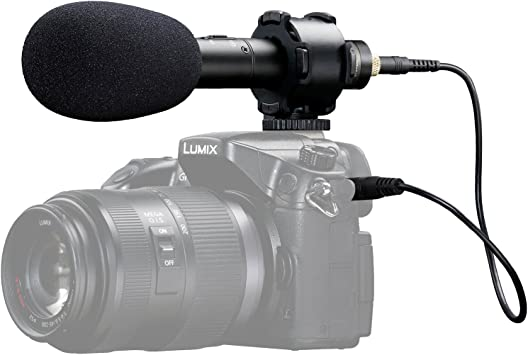 Boya BY-PVM50 Stereo Microphone for DSLR Camera