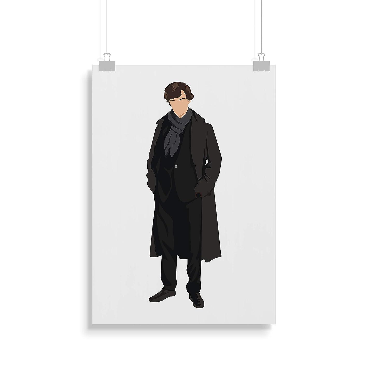 Alternative Fernsehserie Prints in verschiedenen Gr/ö/ßen Sherlock Holmes Poster Zitat Rahmen nicht im Lieferumfang enthalten