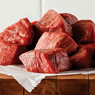 1 (1 lb. pkg.) Filet Mignon Tips : Grocery & Gourmet Food