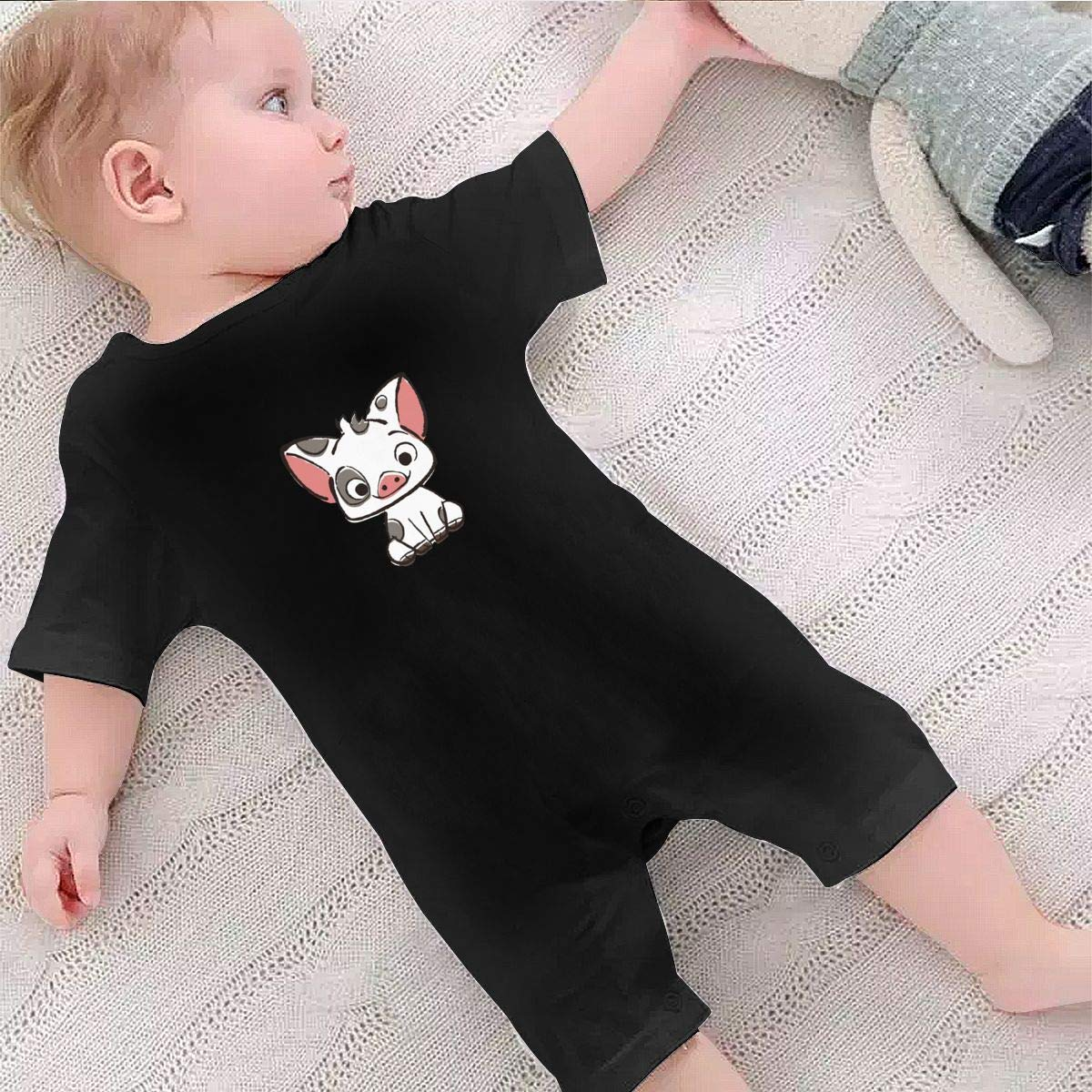Richard Moana Pua The Pot Bellied Pig Baby Boys Girls Romper Bodysuit Infant Funny Jumpsuit Outfit 0-2T