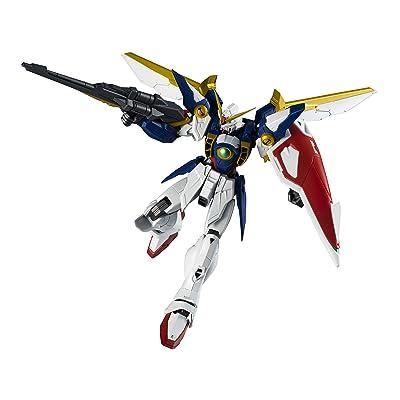 TAMASHII NATIONS Bandai Gundam Universe Xxxg-01W Wing Gundam Mobile Suit Gundam Wing: Toys & Games