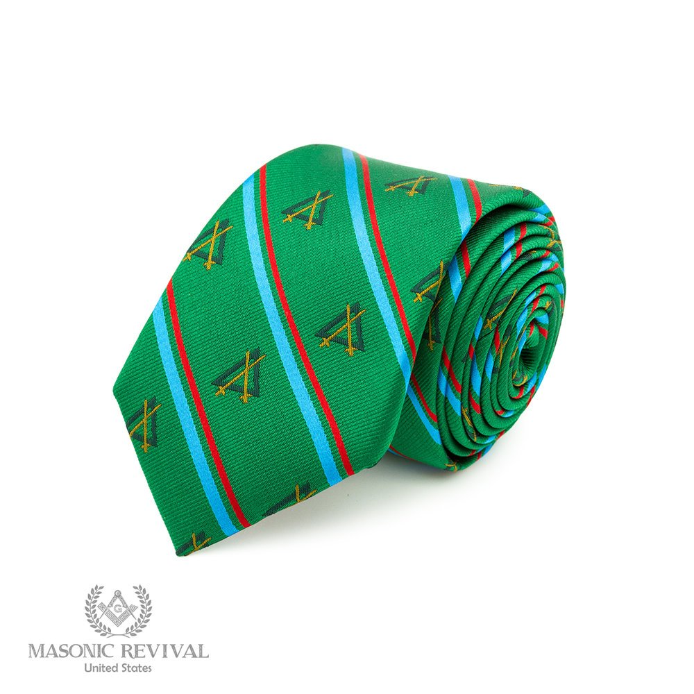 Width: 3 Official Knight Mason Necktie by Masonic Revival