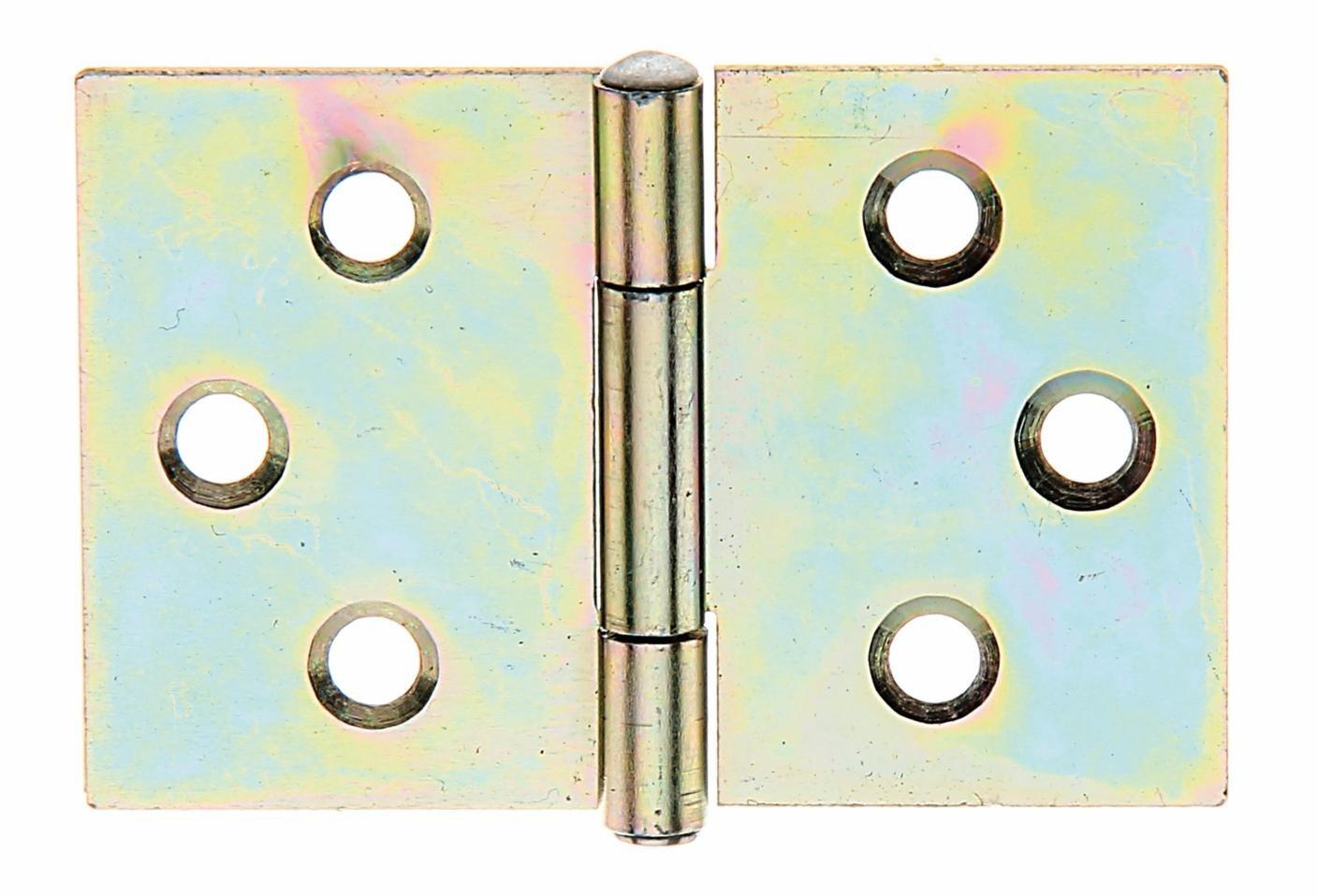 Messingscharnier 4 x 14 mm Metall vermessingt 0,72€//Stück 20 Stück