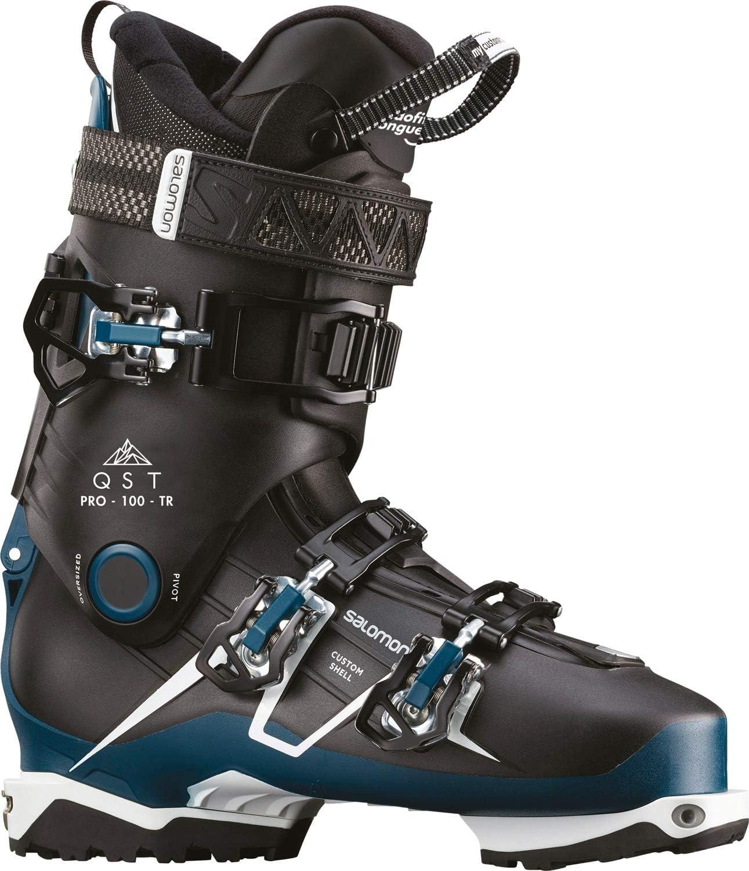 : SALOMON QST Pro 100TR Ski Boots Mens : Sports