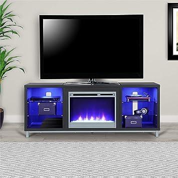 Soporte de TV con Chimenea eléctrica de 70 Pulgadas con Chimenea: Amazon.es: Juguetes y juegos