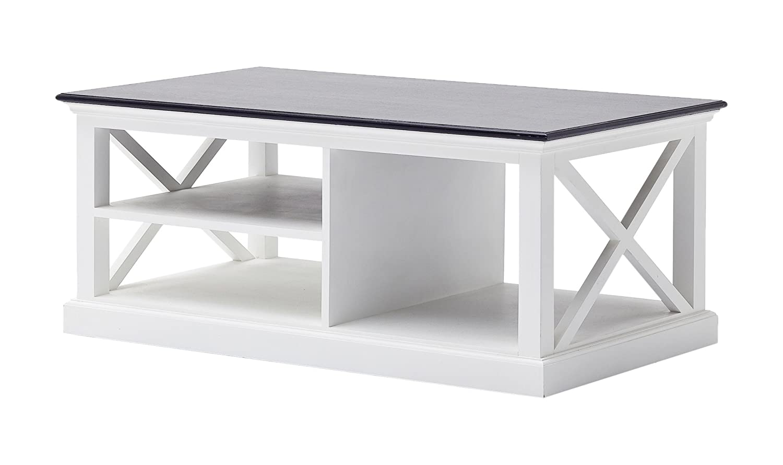 Miraculous Novasolo Halifax Contrast Pure White Mahogany Wood Coffee Table Camellatalisay Diy Chair Ideas Camellatalisaycom