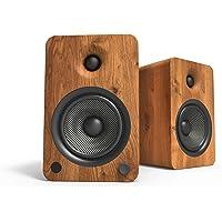 Kanto YU6WALNUT-FG 2-weg luidspreker, 100 W, draadloos, draadloos, draadloos, draadloos, 100 W, 50-2000 Hz, Bluetooth…