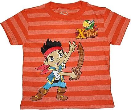 Disney jake and the neverland pirates Boy T Shirt Size 3T Blue Black Skull Rock