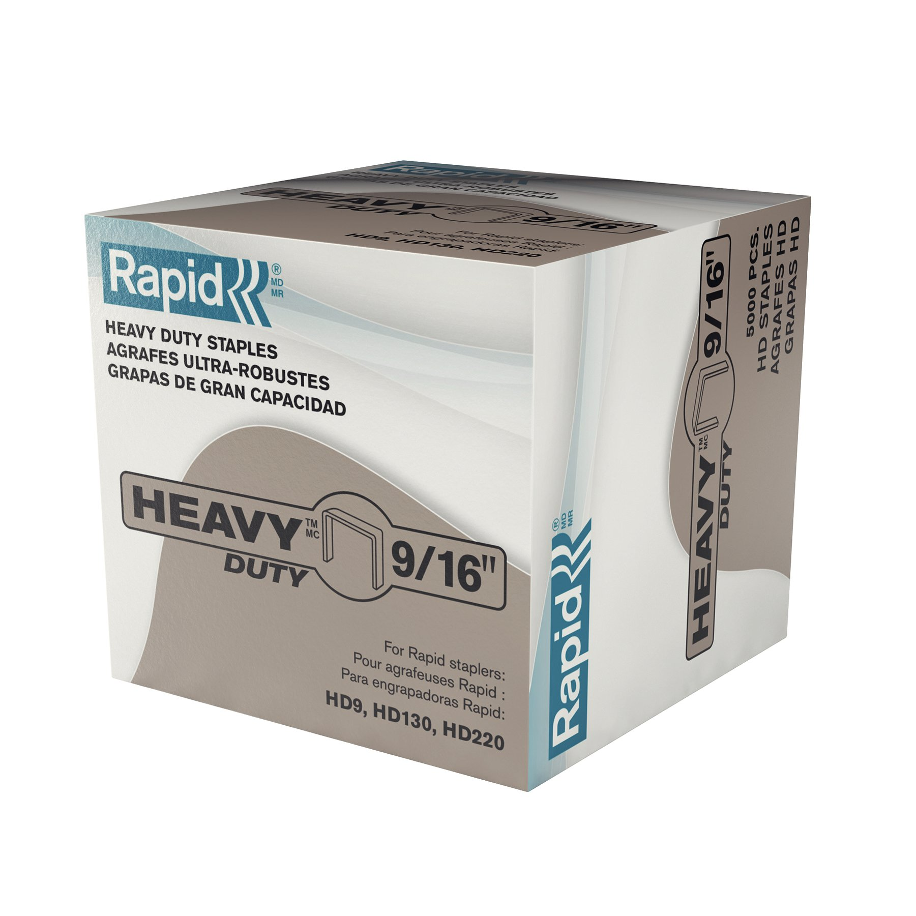 Rapid Heavy Duty 9/16'' Staples - 5,000 box (9051)