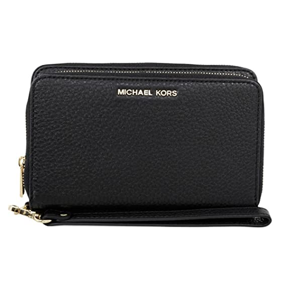 fef9103316d1 Image Unavailable. Image not available for. Color: MICHAEL Michael Kors  Adele Large Smartphone Wristlet ...