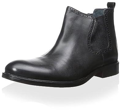 1f0382c612a JOSEPH ABBOUD Men s Paxton Chelsea Boot Black 12 ...
