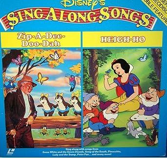 Amazon com: Sing Along Songs: Zip-A-Dee-Doo-Dah / Heigh Ho 12