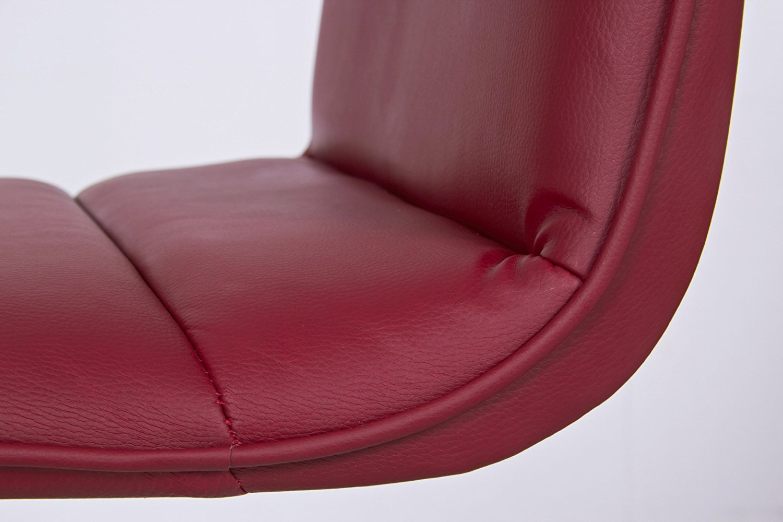 Woltu coppia sgabelli da bar moderni sedia alta senza braccioli pu