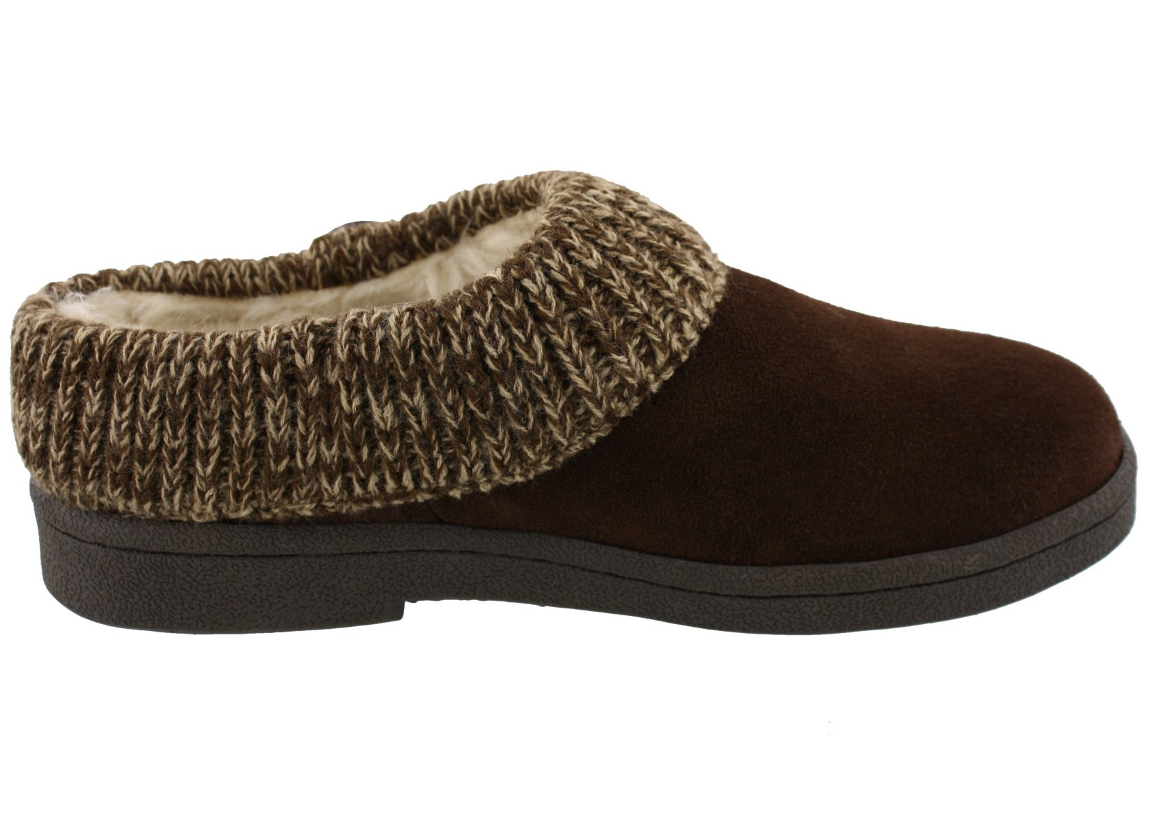CLARKS Angelina Women's Knitted Collar Clog Slipper