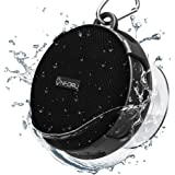 Onforu Altavoz Portátil Bluetooth Ducha, Speaker Inalámbrico con Sonido Estéreo, Bluetooth5.0 y 10 Horas de Reproducción IPX7 Impemeable, Mini Altavoz para Deporte Piscina Playa Baño Hogar