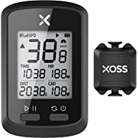 XOSS G+ GPS Bike Computer ANT+ with Smart Cadence Sensor, Bluetooth Cycling Computer, Wireless Bicycle Speedometer…
