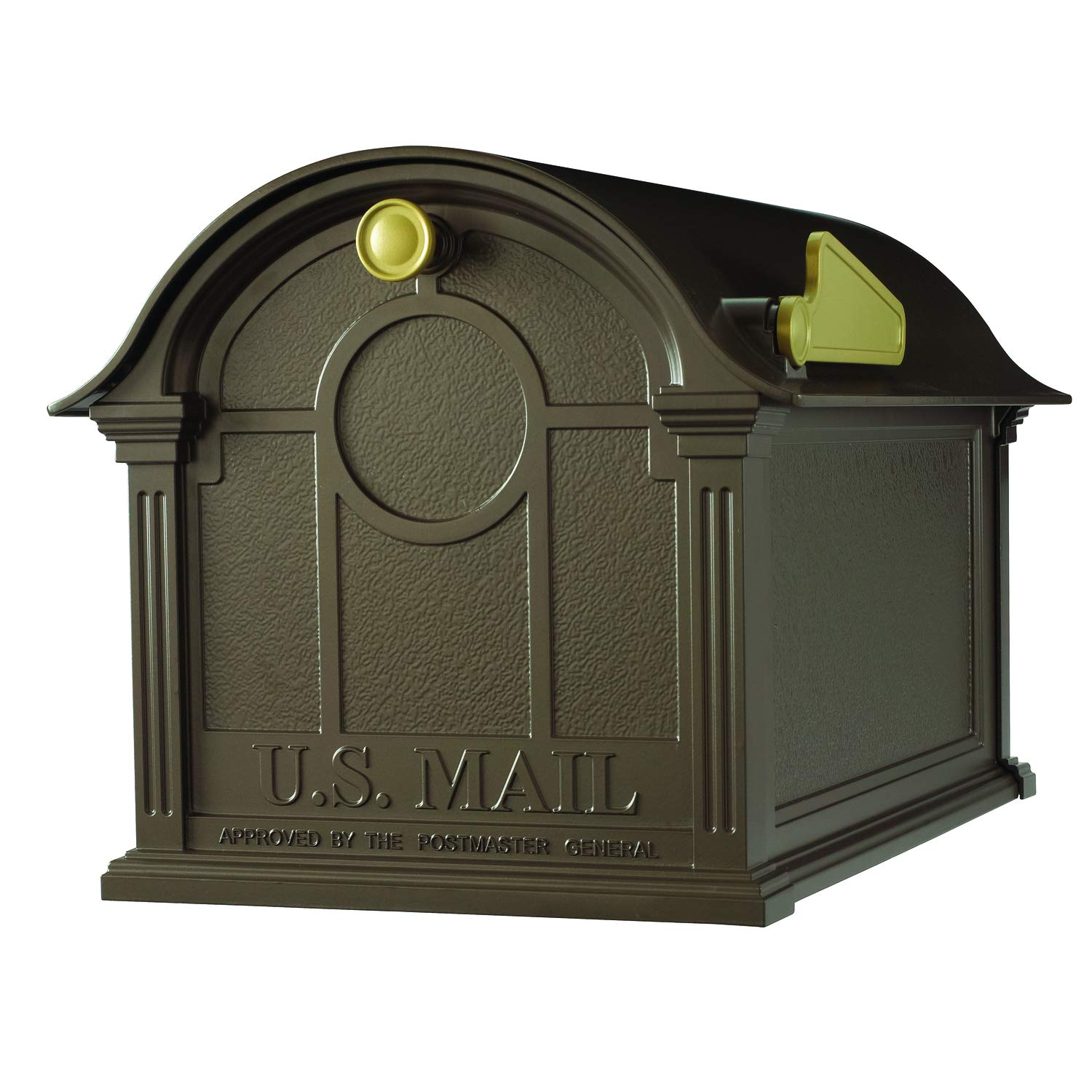 Whitehall Products Balmoral Mailbox, Bronze by Whitehall
