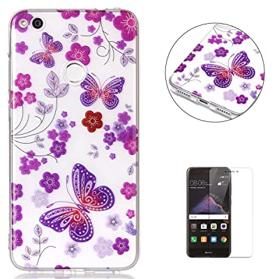 huawei p8 lite 2017 coque crystal gel