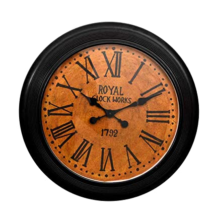 Home Decorative Items | Gift Shop Handicraft Gifts A Beautiful Design Wall Clock (Product Dimensions: (inches) 24 x 4 x 24)