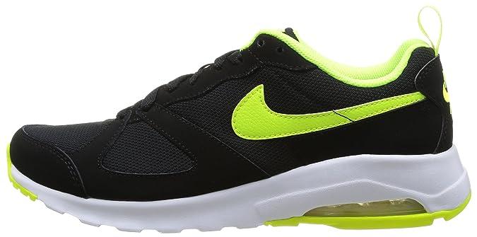 ec6c10910b728 ... france amazon nike air max muse black volt mens shoes black volt  running 94f76 bcadb
