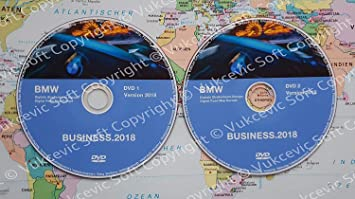 BMW DVD Road Map Europe Business 2018 DVD1 + DVD2 by Vukcevic Soft ...