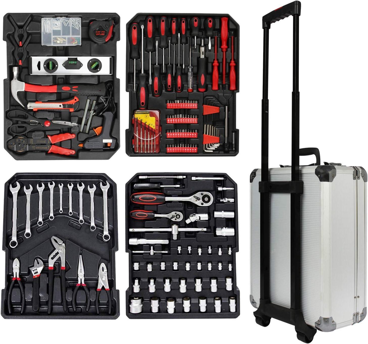 Sotech SK009971 Maleta de tuercas herramientas, Plata: Amazon.es: Bricolaje y herramientas