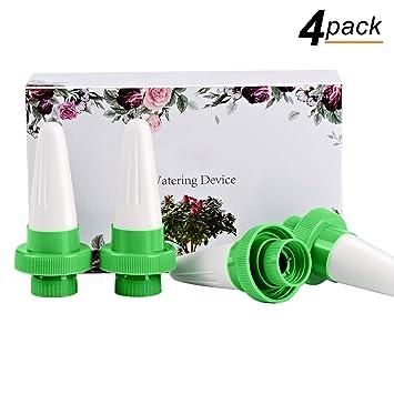 ANARONA Pinchos de riego para plantas (4 unidades, cerámica, riego por goteo ,