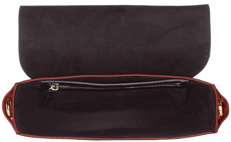 Liebeskind Berlin Womens Dbag Vachetta Leather Saddle Bag with Guitar Strap
