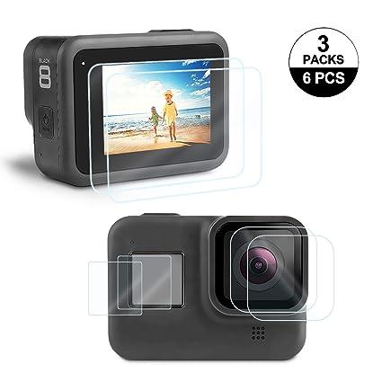 Amazon.com: Protector de pantalla para GoPro Hero 8 Rhodesy ...
