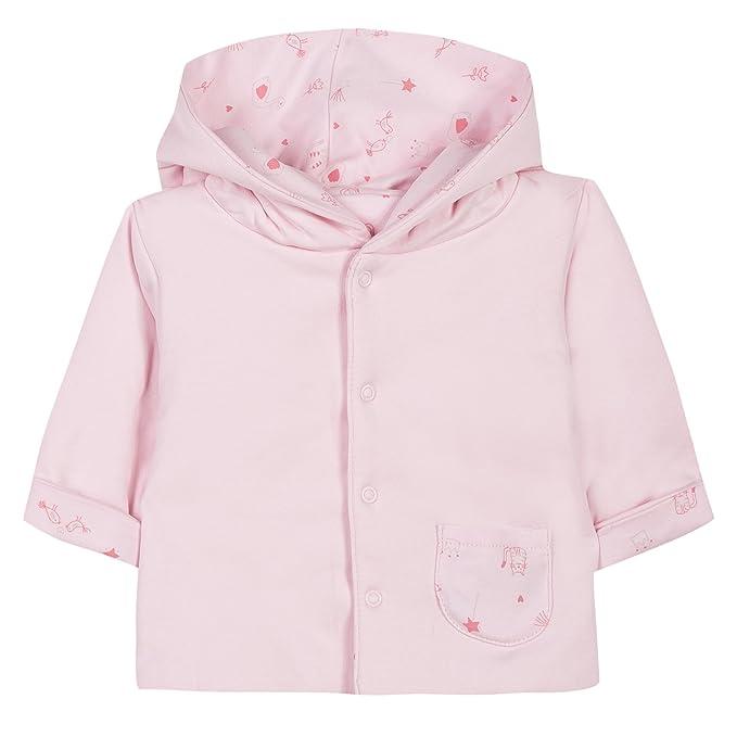 0417e9374 Absorba Boutique Interlock Bio Imprimé-Giubbotto Unisex - Bimbi 0-24 Rosa  (Rose
