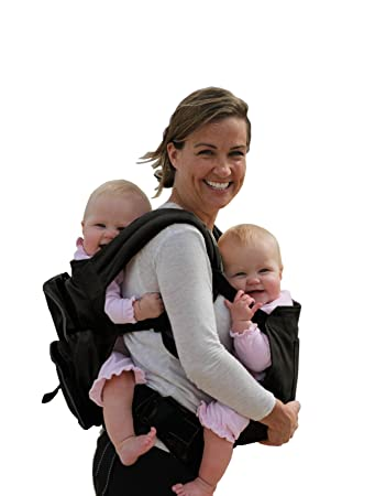Amazon com stuff 4 multiples twingaroo twin carrier khaki baby
