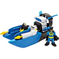 Fisher-Price Juego Imaginext Súper Amigos, Batman & Batilancha