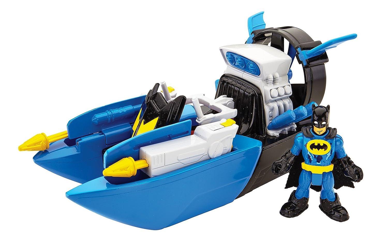 amazon com fisher price imaginext dc super friends bat boat