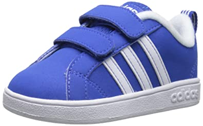 adidas NEO Advantage VS INF Shoe (Little Kid/Big Kid),Blue/