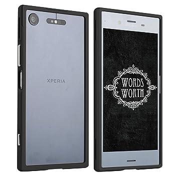 2a18773797 Amazon | Sony Xperia XZ1 【全9色】【アルミバンパーハードケースカバー ...