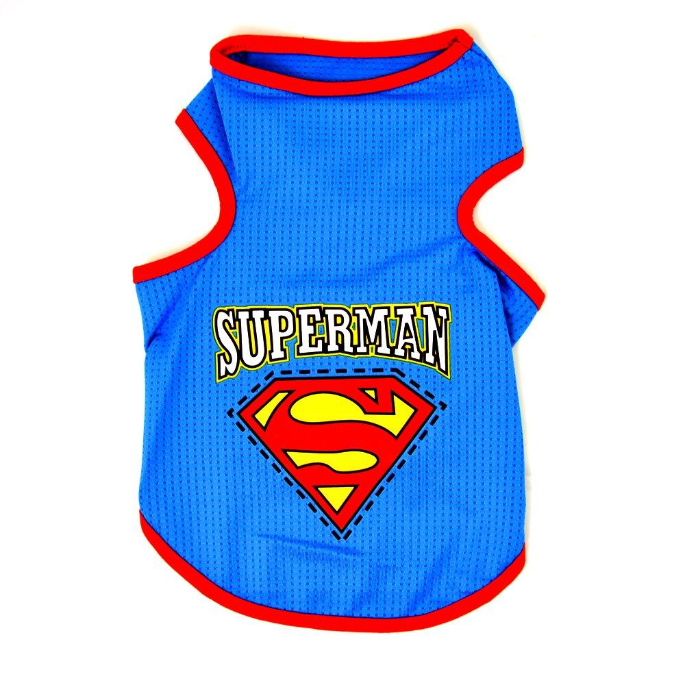 T-Shirt pour chien Superman T-shirt pour chien–Mach votre chien à Super Héros 4yourpet