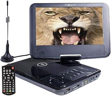 Nevir DVD PORTATIL 9 NVR-2767DVD-PUCT2 Negro TDT HD USB: Nevir: Amazon.es: Electrónica