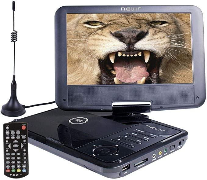 Nevir DVD PORTATIL 9 NVR-2767DVD-PUCT2 Negro TDT HD USB: Nevir ...