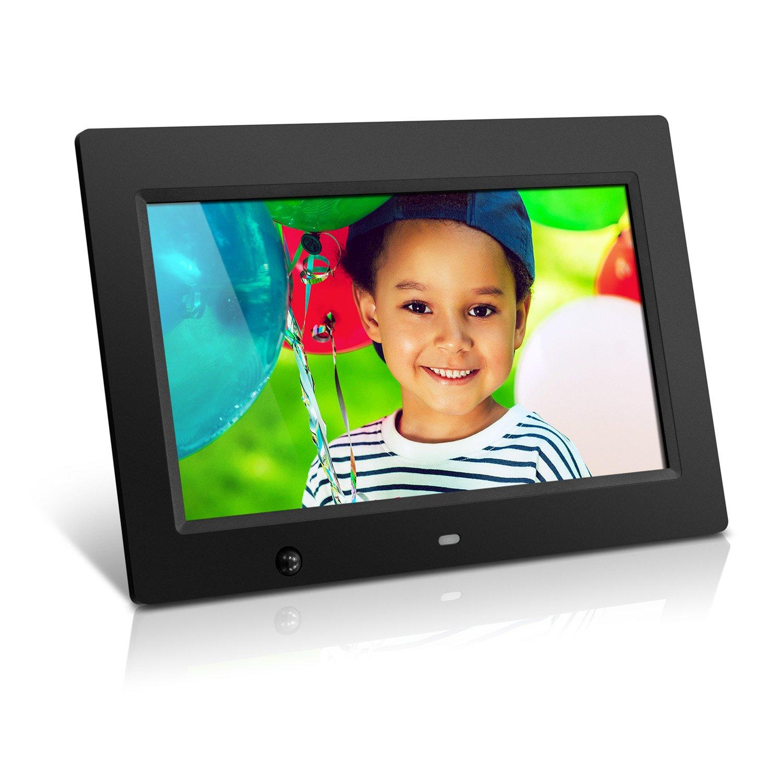 Aluratek ADMSF310F 10-Inch Digital Photo Frame with Energy Efficient Motion Sensor 4GB Built in Memory (Black) by Aluratek