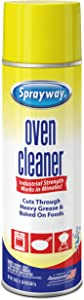 Sprayway Heavy-DutyOven & Grill Cleaner,Removes Oil & Grease, 20 Oz, 20 Ounce