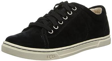 UGG Australia Womens Tomi Sneaker Black Size 7